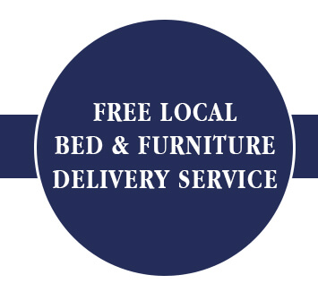 Free local bed and delivery service!